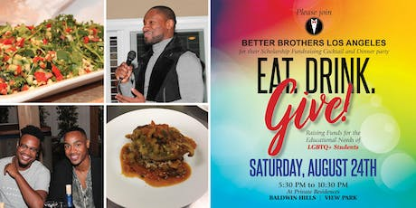 2nd Annual Eat, Drink, and Give: A Scholarship Fundraiser tickets