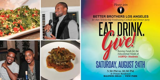 2nd Annual Eat, Drink, and Give: A Scholarship Fundraiser