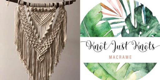 #imadeitmyself  -  A'rora macrame wall hanging with Knot Just Knots Macrame