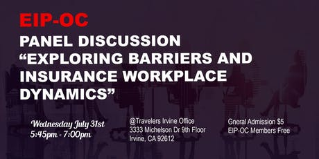 EIP-OC Exploring Barriers and Insurance Workplace Dynamics tickets