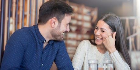 Speed dating et party pour célibataires branchés d'août billets