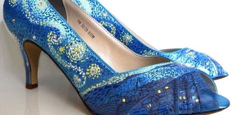 Introduction To Hand Painting on Shoes  tickets