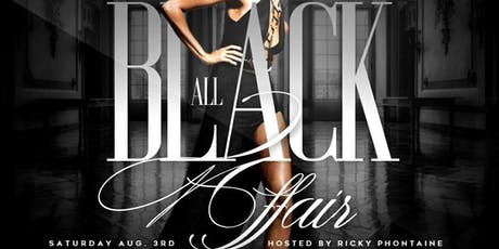 DeJon's 3rd Annual All Black Affair tickets