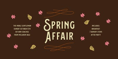 Spring Affair with The Noble Gentleman 2019