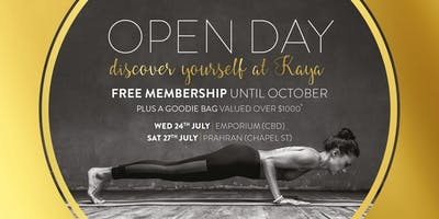 Open Day at Kaya Health Clubs Emporium