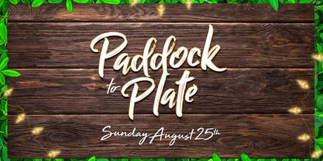 Hart Bar's Paddock to Plate tickets