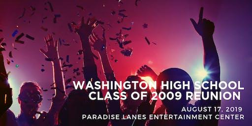 Washington High School Class of 2009 Reunion
