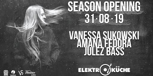 Season Opening Elektroküche 2019 w/ Vanessa Sukowski