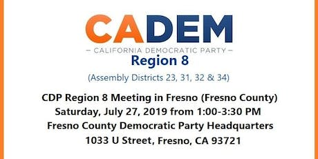 CDP Region 8 Meeting in Fresno (Fresno County) tickets