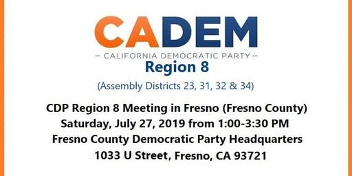 CDP Region 8 Meeting in Fresno (Fresno County)