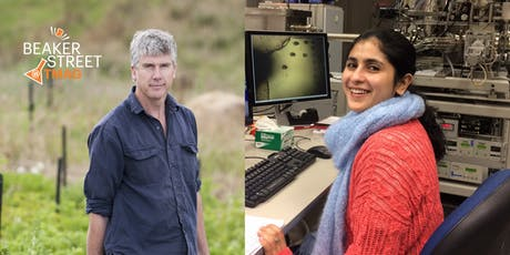 Gourmet Farmer Matthew Evans and Dr Indrani Mukherjee at BeakerStreet@TMAG tickets