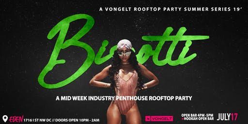 BISCOTTI - A Wednesday Night Rooftop Party