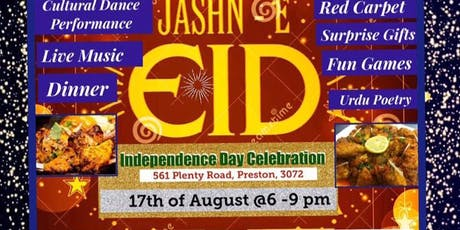 Jashn e Eid and Independence Day Celebration tickets