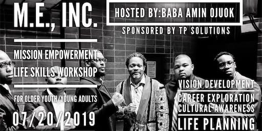 The M.E., Inc. Youth Empowerment Workshop