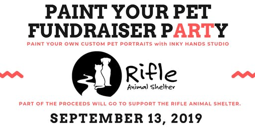 Paint Your Pet: Fundraising pARTy for Rifle Animal Shelter