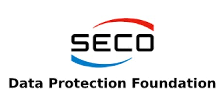 SECO – Data Protection Foundation 2 Days Training in San Francisco, CA tickets