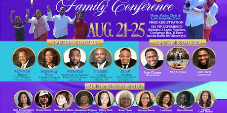 Victorious Life Family Conference 2019 tickets