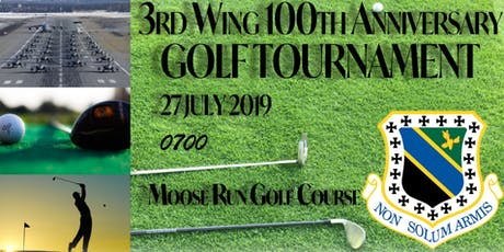 3rd Wing 100th Anniversary Golf Tournament tickets