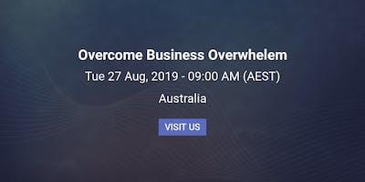 Overcome Business Overwhelm