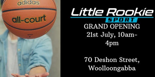 Little Rookie Sport Grand Opening Launch