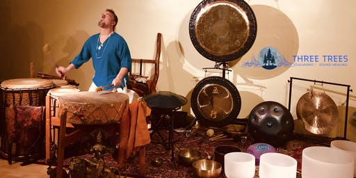 SoulMonic Sound Healing Journey w/ Three Trees! Sonic Alchemy Medicine <3