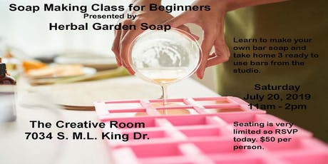 Soap Making for Beginners tickets
