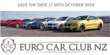 Euro Car Club NZ // Mega Meet 2019 tickets