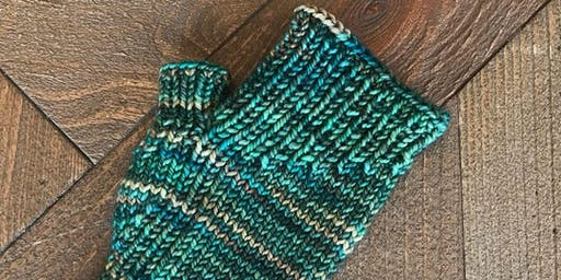 Learn to Knit: Mitts