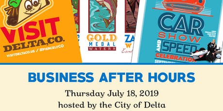 Business After Hours, City of Delta, July 2019 tickets