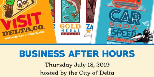 Business After Hours, City of Delta, July 2019