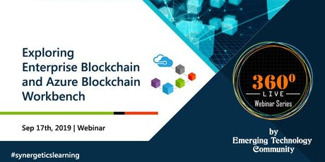 Exploring Enterprise Blockchain and Azure Blockchain Workbench tickets