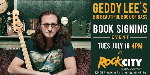 Geddy Lee - Geddy Lee's Big Beautiful Book of Bass