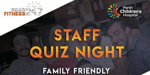 Perth Children's Hospital- Roar Team Quiz Night