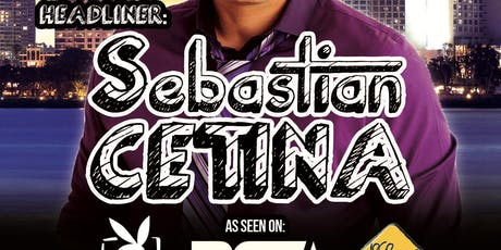 Sebastian Cetina @ The Comedy Palace - Thu. Aug 8th 8:00 pm tickets