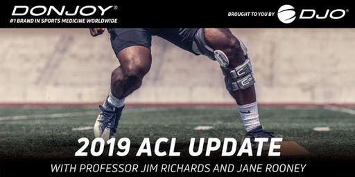 2019 ACL Update with Professor Jim Richards and Jane Rooney   Melbourne