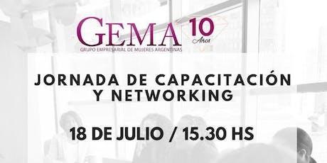 GEMA JORNADA CAPACITACION Y NETWORKING entradas