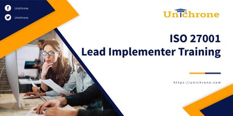 ISO 27001 Lead Implementer Training in Saint Petersburg Russia tickets