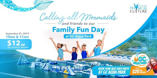 Mermaid Family Fun Day