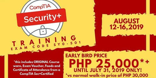 CompTIA Security+ TRAINING Exam Code SY0-501