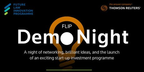 FLIP x Thomson Reuters' Demo Night tickets