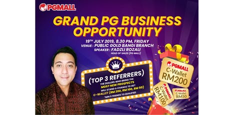 Grand PG Business Opportunity tickets
