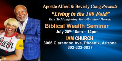 BIBLICAL WEALTH SEMINAR