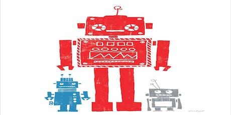 Child Creativity Lab- Robot Upcycling Workshop tickets