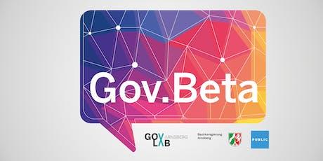 Gov.Beta 2019 Tickets