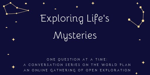 Exploring Life's Mysteries, One Question at a Time: Is there a Plan?