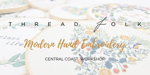 Modern Hand Embroidery Workshop