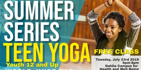More Juice Series: Teen Yoga with Black Bear Fitness tickets