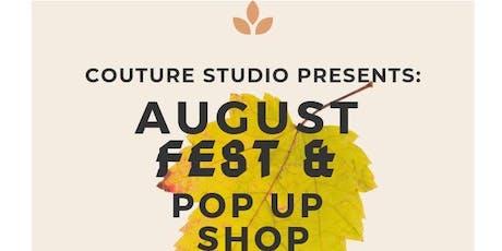 August Fest Pop Up Shop tickets