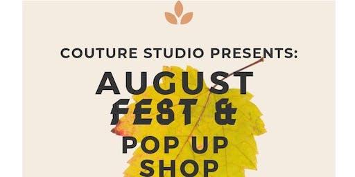 August Fest Pop Up Shop
