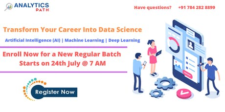 Enroll For Data Science New Regular Batch By Analytics Path From 24th June tickets